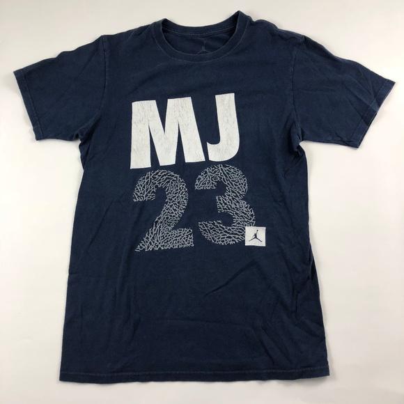 745dcbd288e1ec Jordan Other - Small Air Michael Jordan Blue MJ23 Graphic Tee